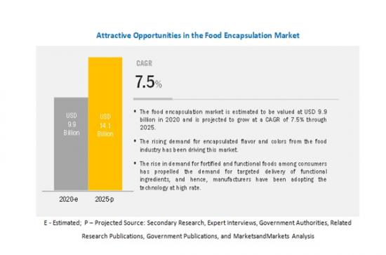 食品カプセル化市場